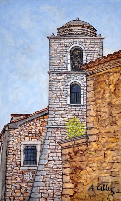 Il campanile della chiesa grande
