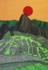 Tramonto a Machiu Picchiu