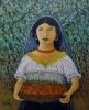 La donna con il cesto